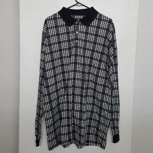 Vintage Haggar Checkered Long Sleeve Shirt. Wow!